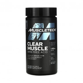 Clear Muscle 84 capsules -...
