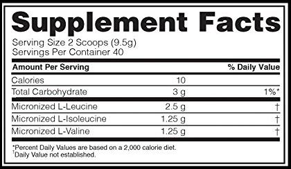 Bcaa 5000 Powder 380g - Optimum Nutrition