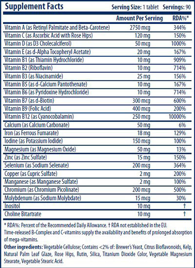 Daily Vita-Min 90 Tabs - Scitec Nutrition