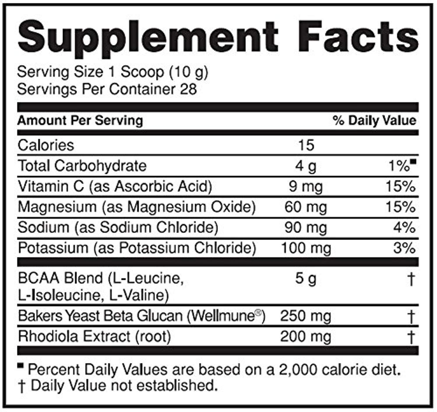 Gold standard Bcaa  28 Servings(266g) - Optimum Nutrition