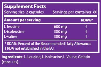 Bcaa X 120 Capsuleule - Scitec Nutrition