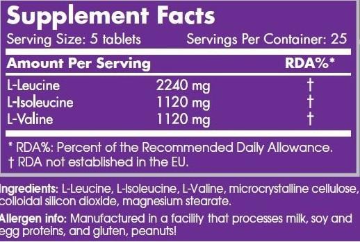 Bcaa 6400 125 - Scitec Nutrition